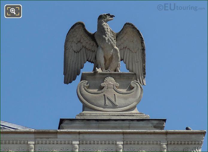 Imperial Eagle Statue Palais De Justice