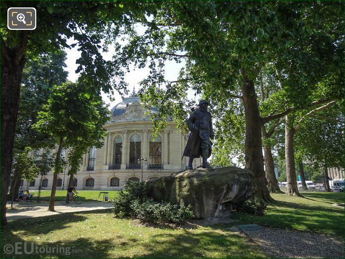 Bronze Clemenceau Statue By Francois Cogne Paris