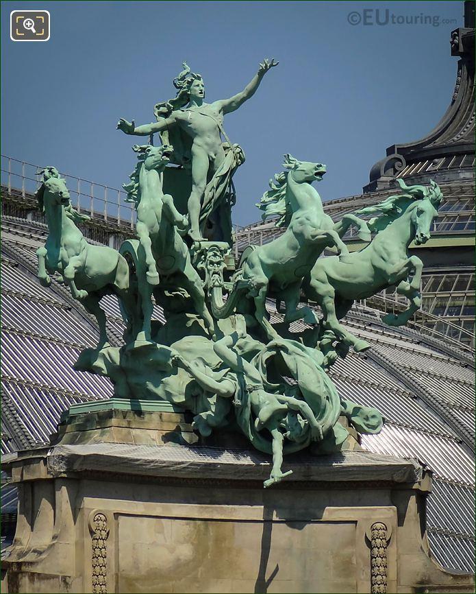 The L Harmonie Triomphant De La Discorde Statue