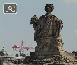 Back Of The Bordeaux Statue