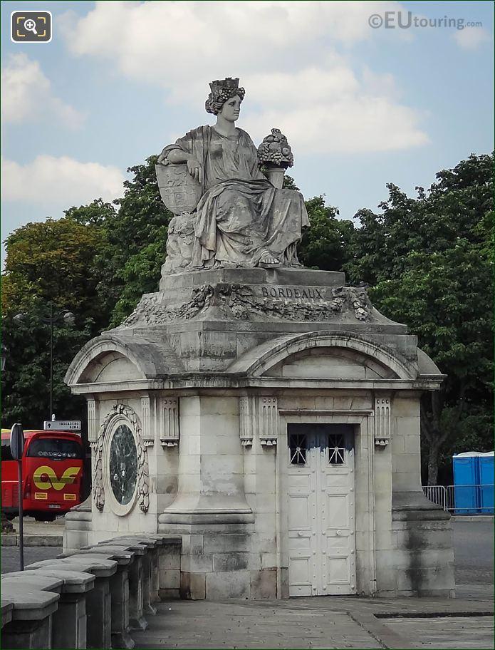 1836 Bordeaux Statue By Louis-Denis Caillouette