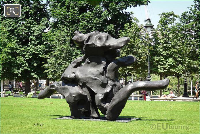 Willem Kooning 1983 Standing Figure Sculpture