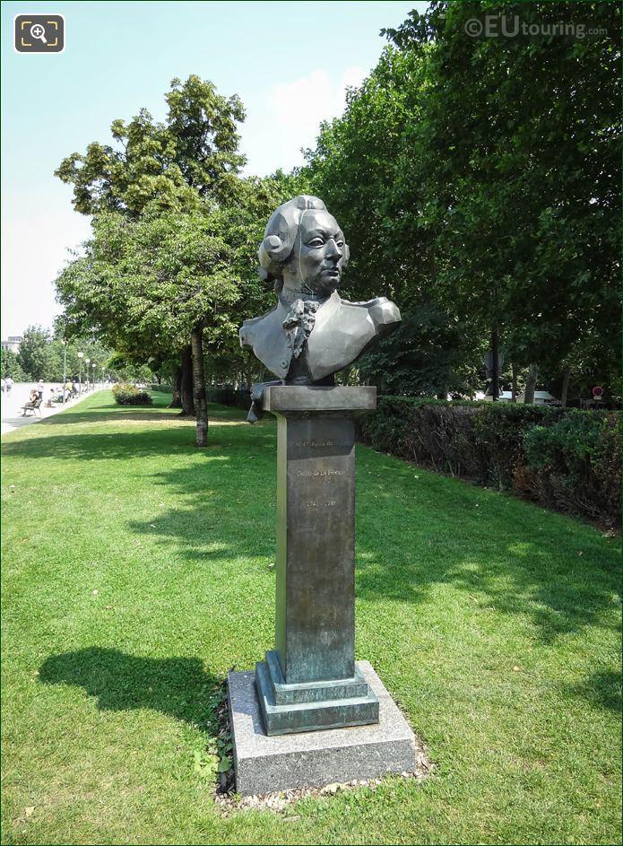 Bronze Bust Of Francois De Galaup La Perouse
