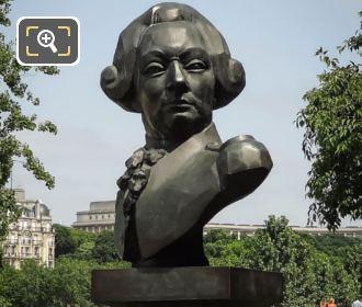 Francois De Galaup Statue By Raymond Delamarre
