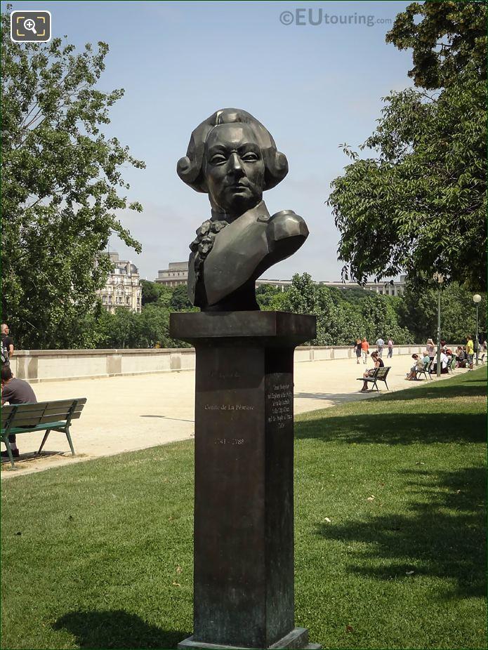Francois De Galaup, Comte De La Perouse Statue