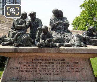 Monument To The Jewish Matyrs Of The Winter Stadium