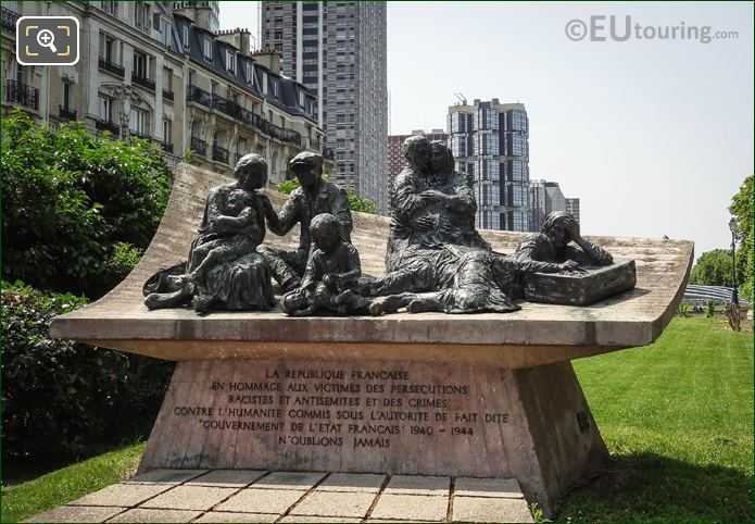 Monument To The Jewish Martyrs By Walter Spitzer
