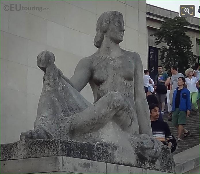 Goddess of Fruit Trees statue in Jardins du Trocadero