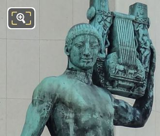 Apollon Musagete Statue By French Sculptor Henri Bouchard