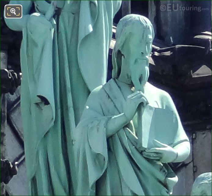 Apostle Statues By Eugene-Emmanuel Viollet-le-Duc