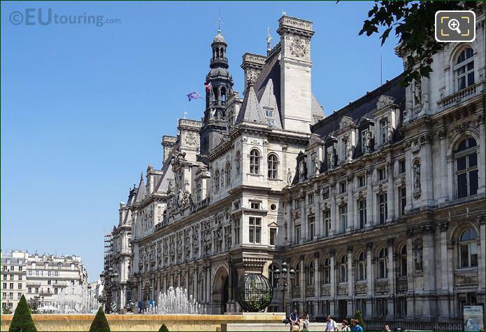 West Facade Of Hotel De Ville