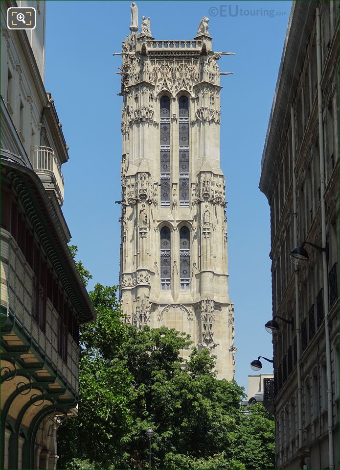 Tour Saint Jacques 4th Arrondissement Paris
