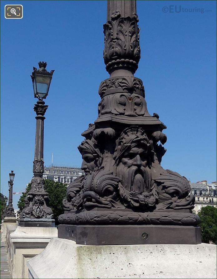 Pont Neuf Lamp Post Sculptures