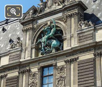 Napoleon III Statue On Guichets Lesdiguieres