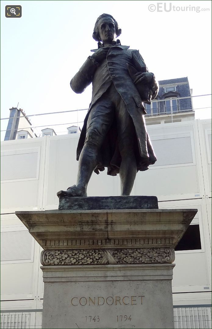 Statue Of Le Marquis De Condorcet