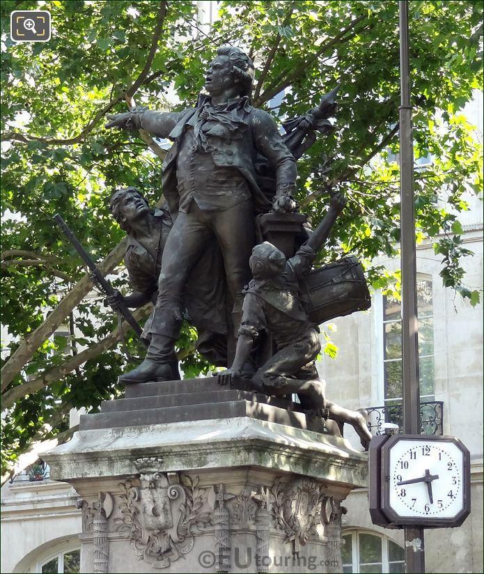 Georges Jacques Danton Statue