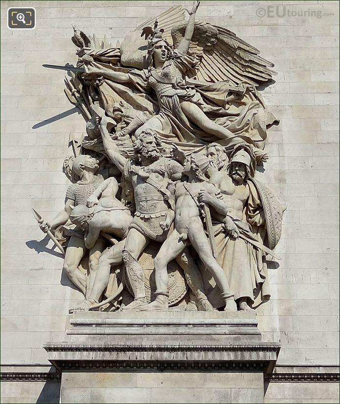 Le Depart De Volontaires De 1792 Statue