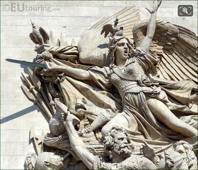 Arc De Triomphe Le Depart De Volontaires De 1792