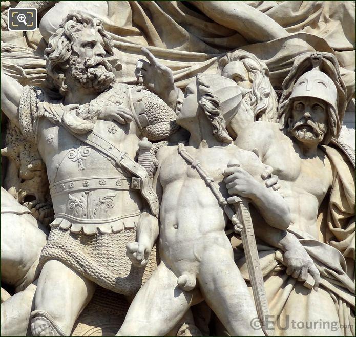 The Arc De Triomphe La Marseillaise