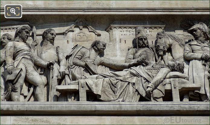Arch De TriompheLes Les Funerailes Du General Marceau