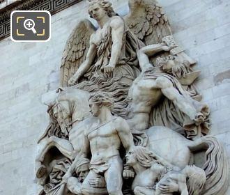 La Resistance 1814 Sculpture