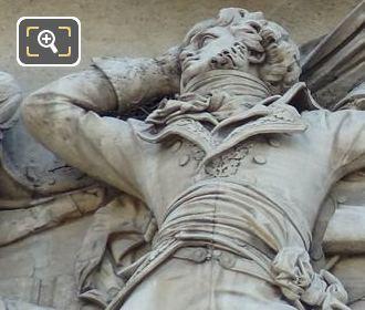 La Prise d'Alexandrie Sculpture By Sculptor John-Etienne Chaponniere