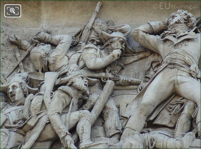Battle Scene From La Prise d'Alexandrie Sculpture