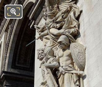 La Marseillaise Statue At The Arc De Triomphe