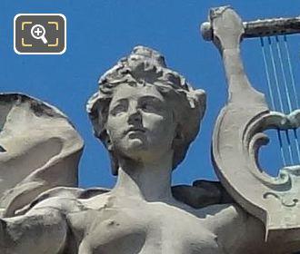 La Paix Statue 8th Arrondissement Paris