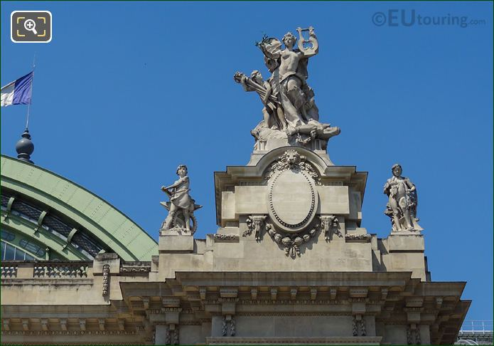 La Paix Statue Grand Palais Paris