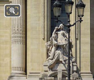 L'Art Et La Nature Sculpture On The Grand Palais