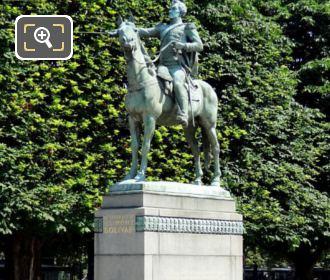 Paris Statue Of Simon Bolivar