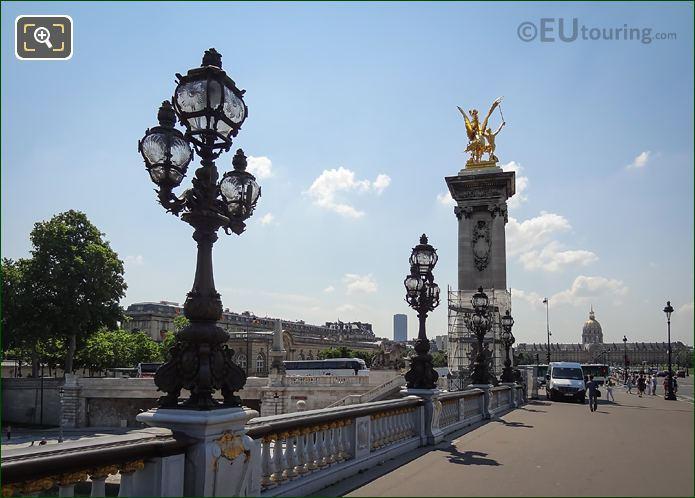 Pont Alexandre III SE Corner Column