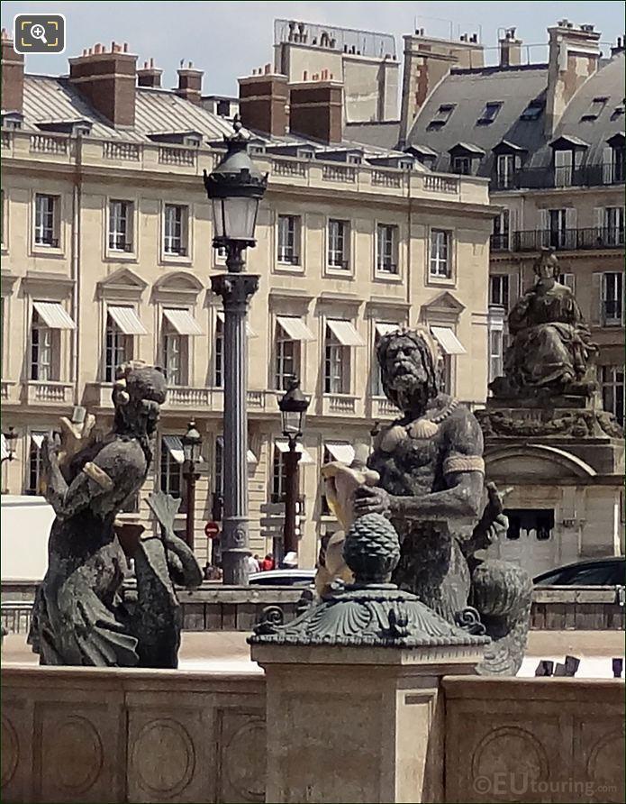 Fontaine Des Fleuves At Place De La Concorde