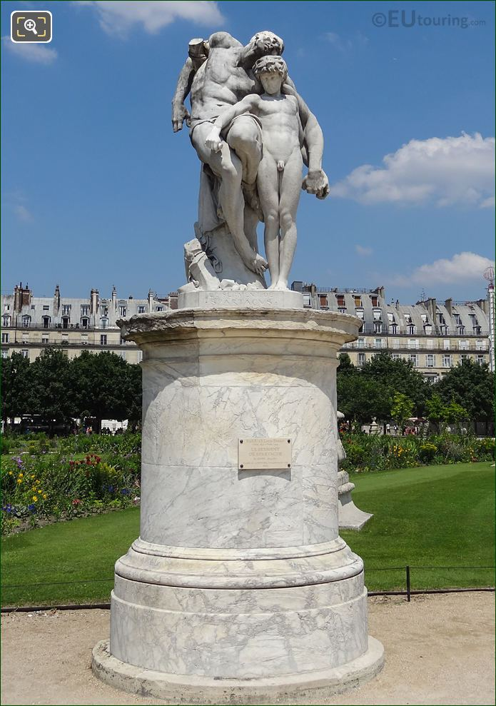 Le Serment De Spartacus Statue