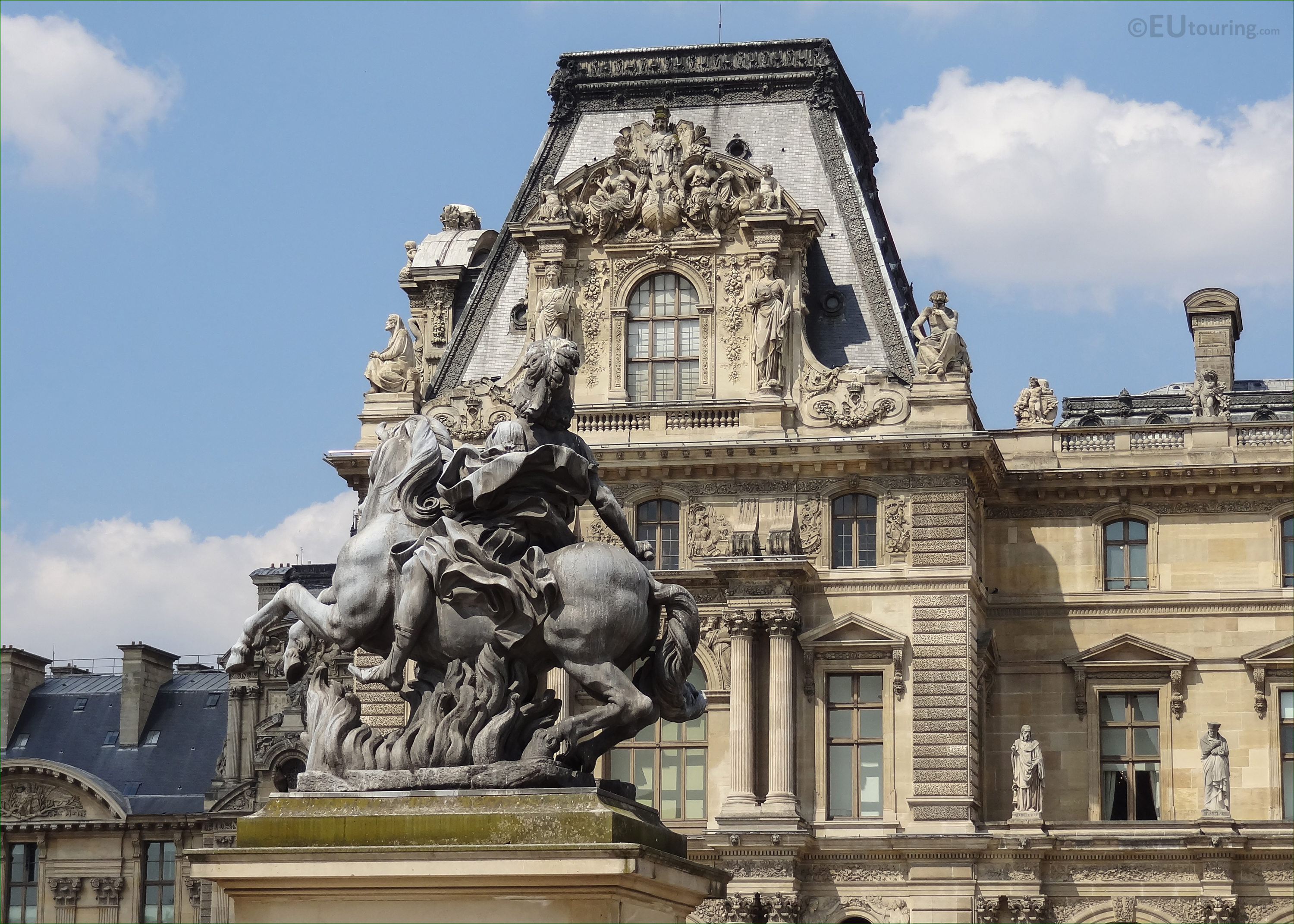 King Louis Xiv Equestrian Statue At Musee Du Louvre Page 26