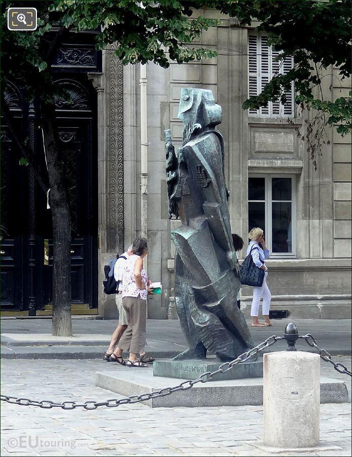 1956 Prometheus Statue By Ossip Kadkine