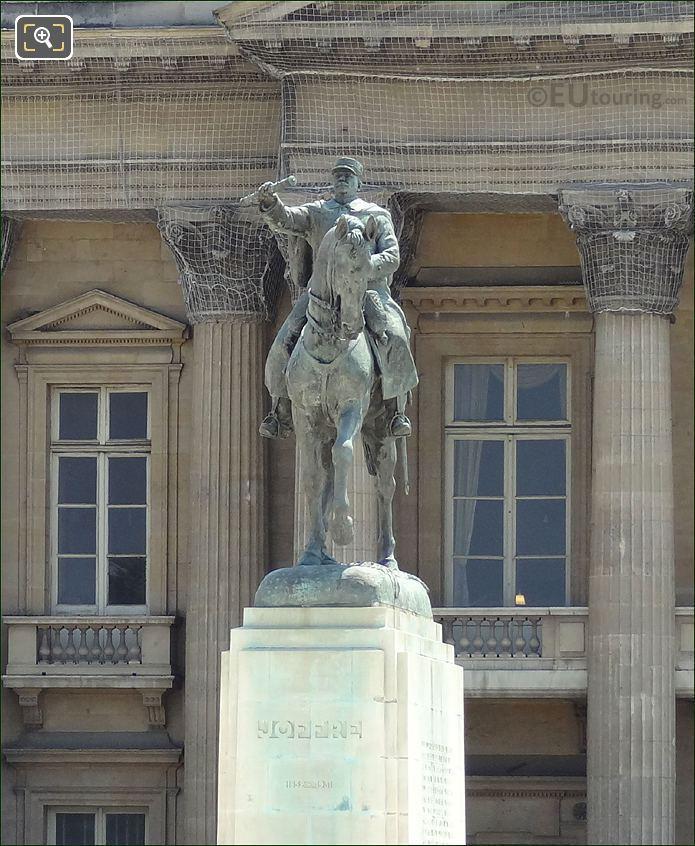 The Ecole Militaire Statue Of Marechal Joseph Joffre