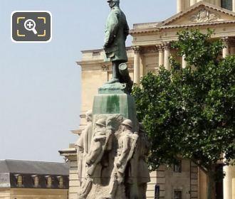 Statue Of Emile Fayolle