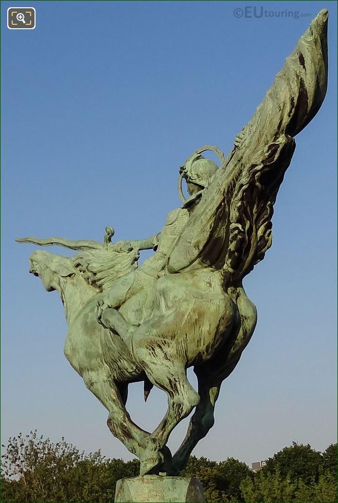 Monument De La France Renaissante By Sculptor Holger Wederkinch