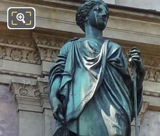 Justice Statues By French Sculptor Louis Valentin Robert