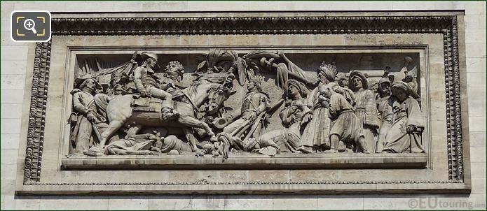 La Bataille d'Aboukir Sculpture On Arc De Triomphe