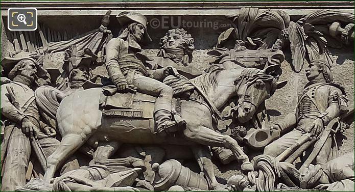 La Bataille d'Aboukir Sculpture By Sculptor Bernard Gabriel Seurre