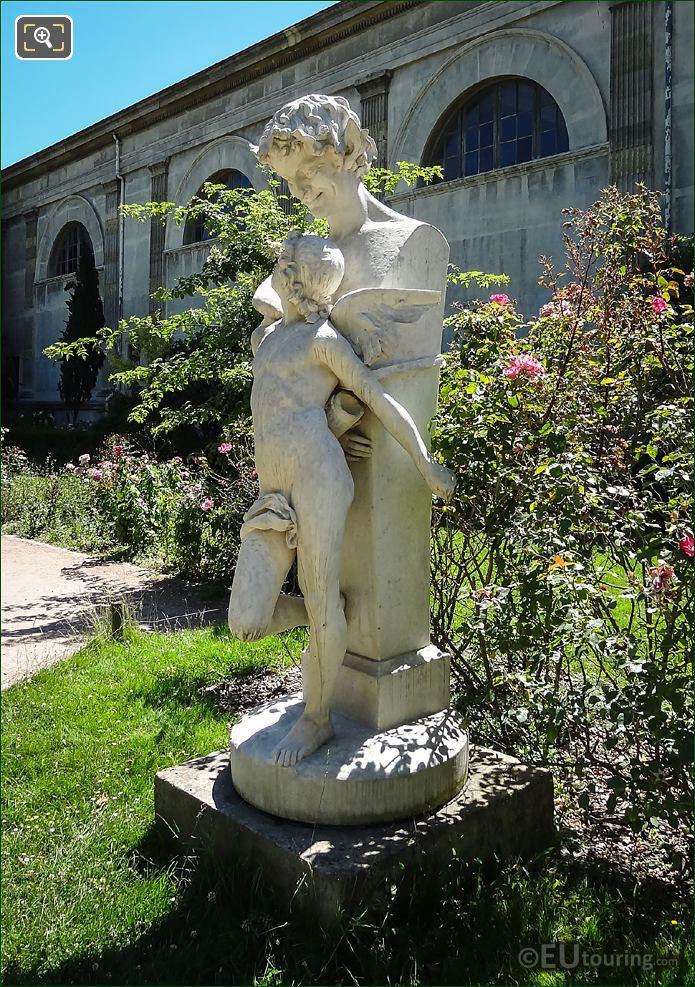 l Amour Prisonnier Statue By Felix Sanzel