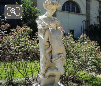 Captive Love Statue Jardin Des Plantes Paris