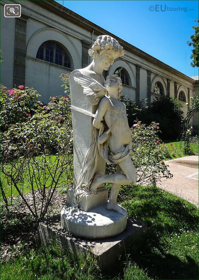 l Amour Prisonnier Statue 1868 Felix Sanzel