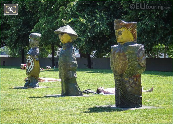Children Of The World Statues Parc De Bercy