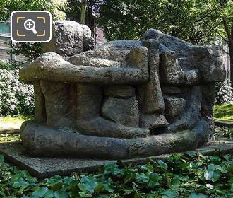 1968 Demeure X Statue