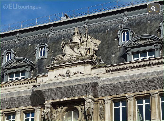 La Ville De Marseille Statue Produced In 1899