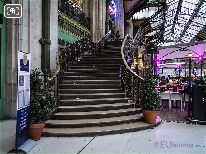 The Train Bleu Staircase